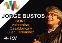 Jorge Bustos, candidato al CORE