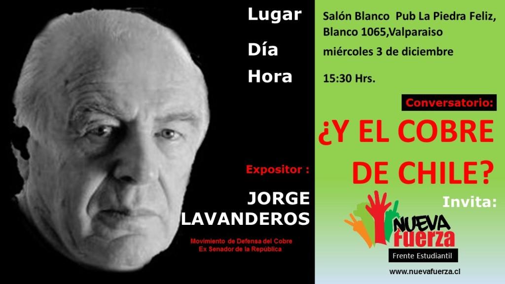 Afiche Digital Jorge Lavanderos