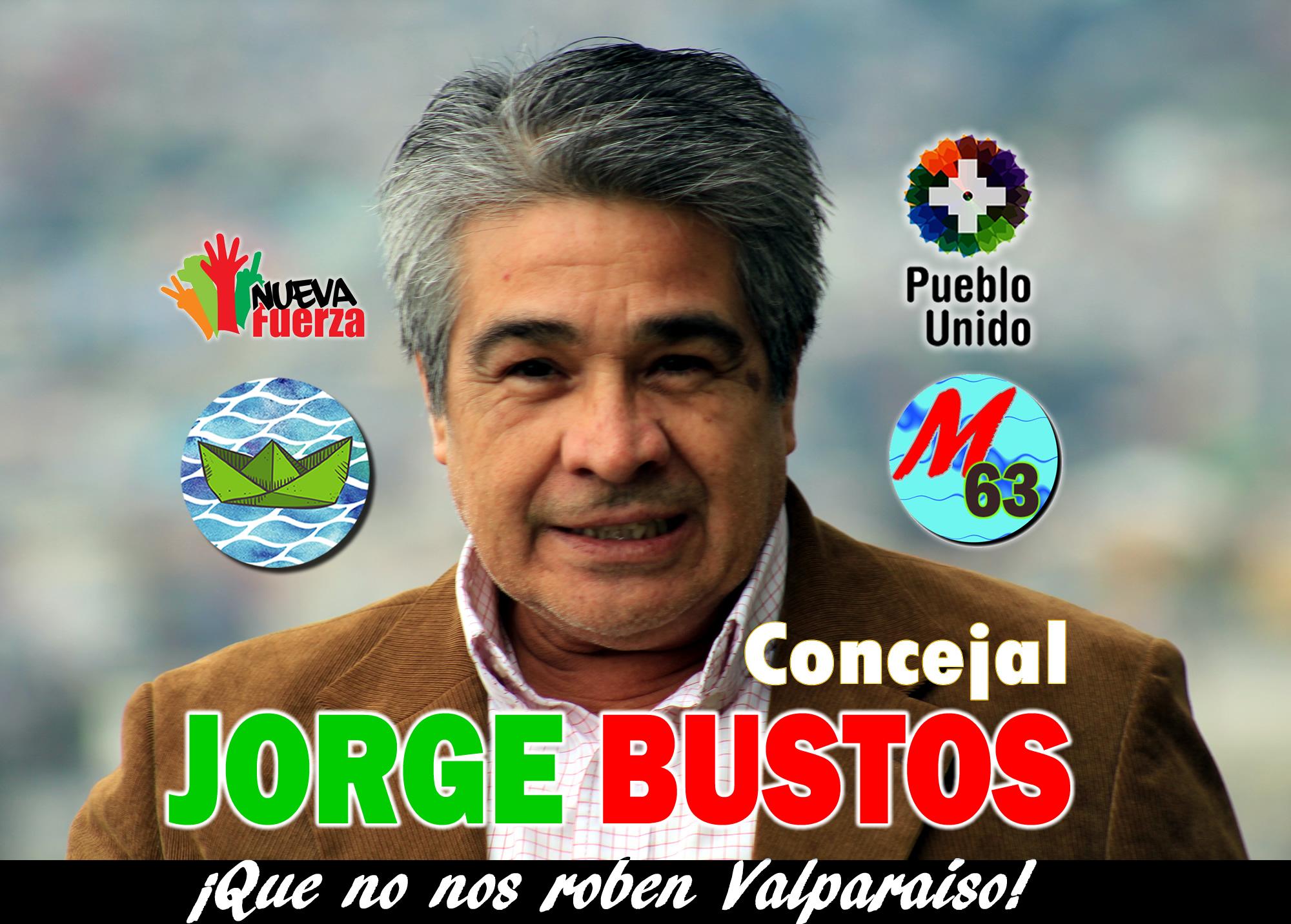 Jorge Bustos, Concejal